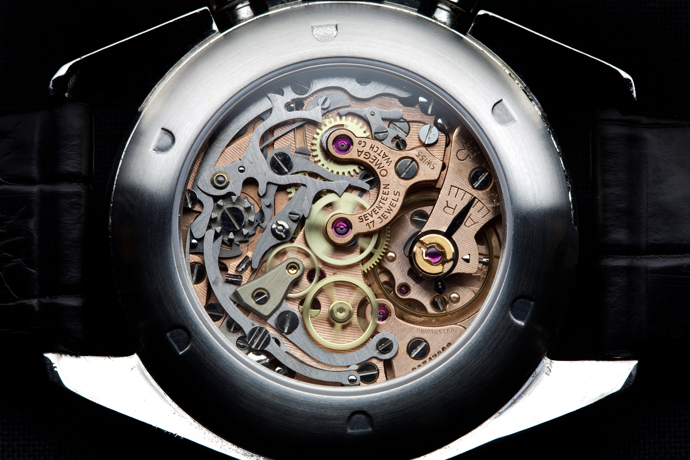 Omega Cal. 321 Chronograph movement