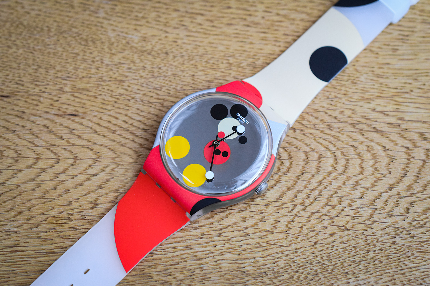 Hands-On: Swatch x Damien Hirst Mickey Mouse Watch - ATELIER DE GRIFF