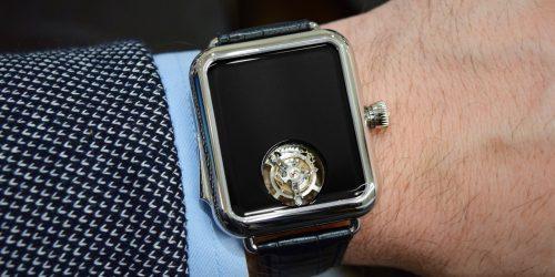 Hands-On: H. Moser & Cie Swiss Alp Watch Concept Black