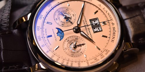 Hands-On: A. Lange & Söhne Datograph Perpetual Tourbillon Pink Gold Dial