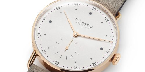 Release: Nomos Metro 33 in 18K Rose Gold