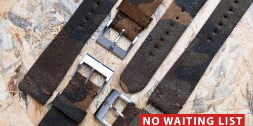 Shop News: No Waiting List, Camouflage Suede Re-Edition!