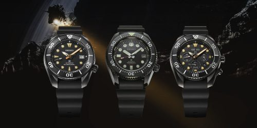 Release: Seiko Prospex The Black Series Limited Editions
