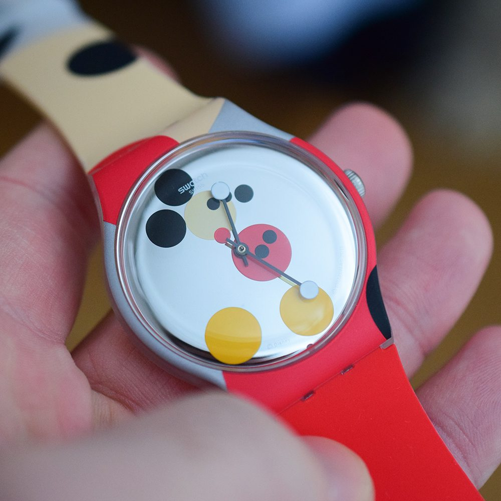 swatch mickey mirror